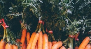 Carrots are low in FODMAPs