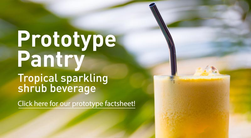 Prototype Pantry Tropical Sparkling Shrub Beverage